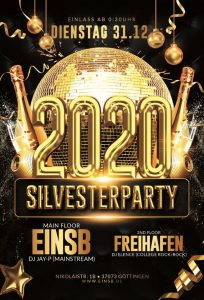 Silvester @Einsb & Freihafen  Start 0:30 Uhr