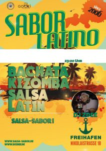 Sabor Latino at Freihafen