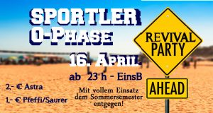 Sportler O-Phasen Revival Party