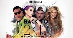 Back to 2k10 - 2 Floors 1 Eintritt! // einsB // 27.07
