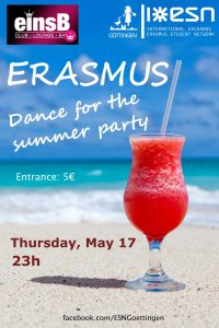 ERASMUS Dance for the summer party