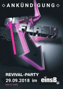 Pink & Flash-Revival-Party 2018