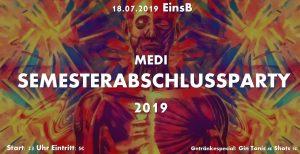 MEDI Semesterabschlussparty 2019