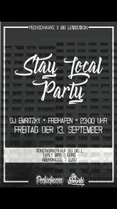 Stay Local Party // Freihafen