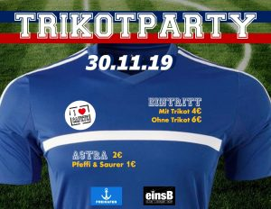 Sportler-Trikotparty